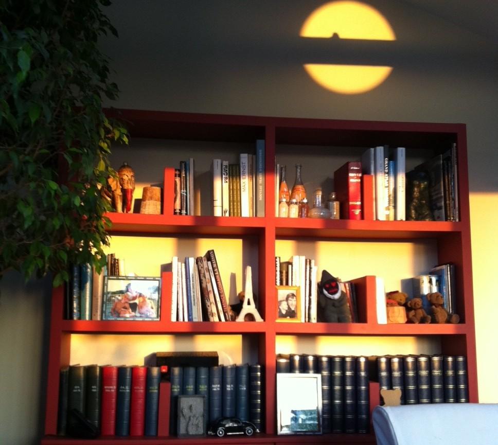 Bibliothèque Salon rouge