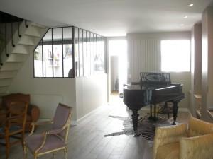 Carol delecroix - Escalier ouvert salon ...