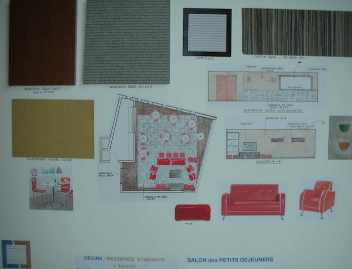 Projet résidence étudiante C Delecroix