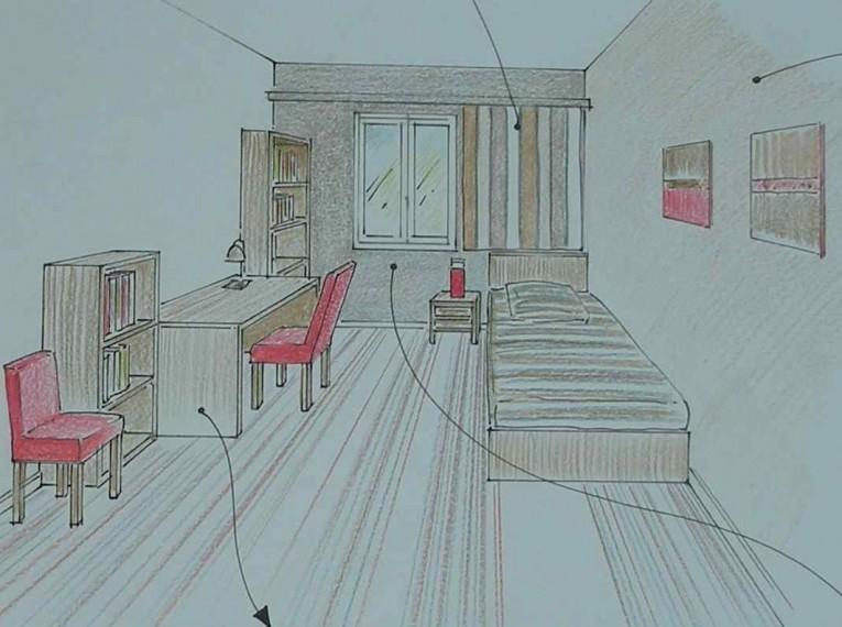 Studio résidence étudiante C.Delecroix