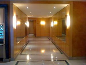 Hall immeuble Paris 16 1a C.Delecroix