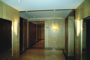 Hall immeuble Paris 16 2a C.Delecroix