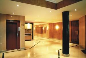 Hall immeuble Paris 16 3a C.Delecroix