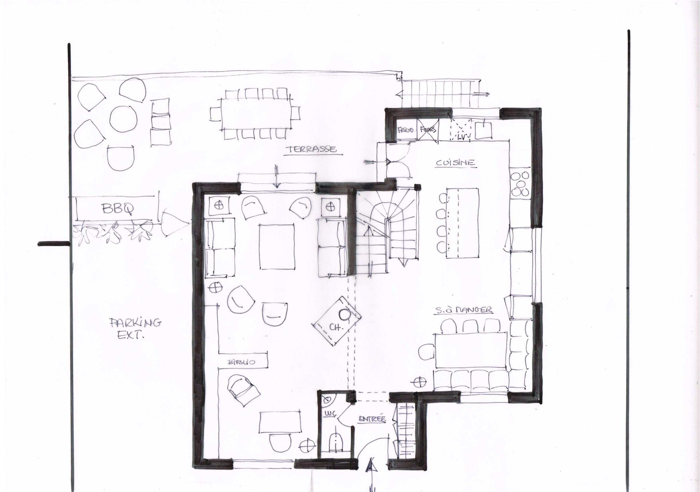 2 Projet Maison Carrières sur seine